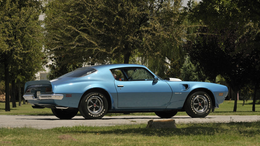 1970 Pontiac Trans Am Ram Air IV 400/370 HP, Automatic presented as lot S174 at Indianapolis, IN 2013 - image9