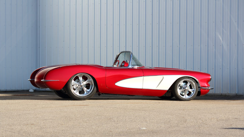 1959 Chevrolet Corvette Resto Mod LS1, C4 Suspension, Downs Body presented as lot S178 at Indianapolis, IN 2013 - image2