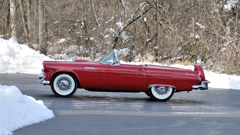 1956 Ford Thunderbird 312/225 HP, Minter Restoration presented as lot S181 at Indianapolis, IN 2013 - image2