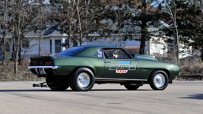 1969 Chevrolet Camaro ZL1 Coupe #65 of 69 Produced, 1 of 3 Built COPO 9737 presented as lot S185 at Indianapolis, IN 2013 - image2
