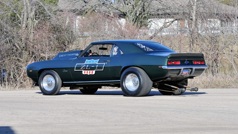 1969 Chevrolet Camaro ZL1 Coupe #65 of 69 Produced, 1 of 3 Built COPO 9737 presented as lot S185 at Indianapolis, IN 2013 - image3