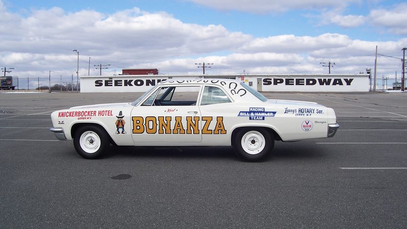 1966 Chevrolet Biscayne 427/425 HP, 4-Speed presented as lot S187 at Indianapolis, IN 2013 - image2