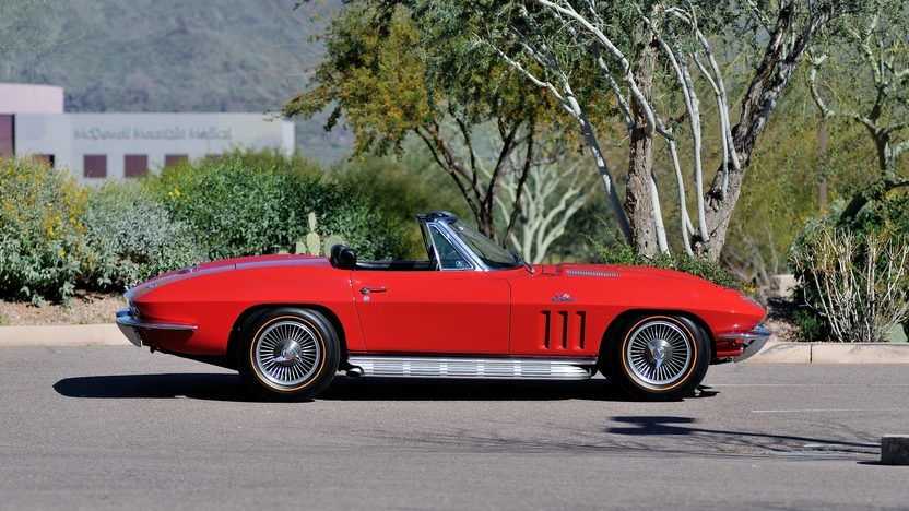 1966 Chevrolet Corvette Convertible 427/390 HP, 4-Speed presented as lot S132 at Indianapolis, IN 2013 - image2