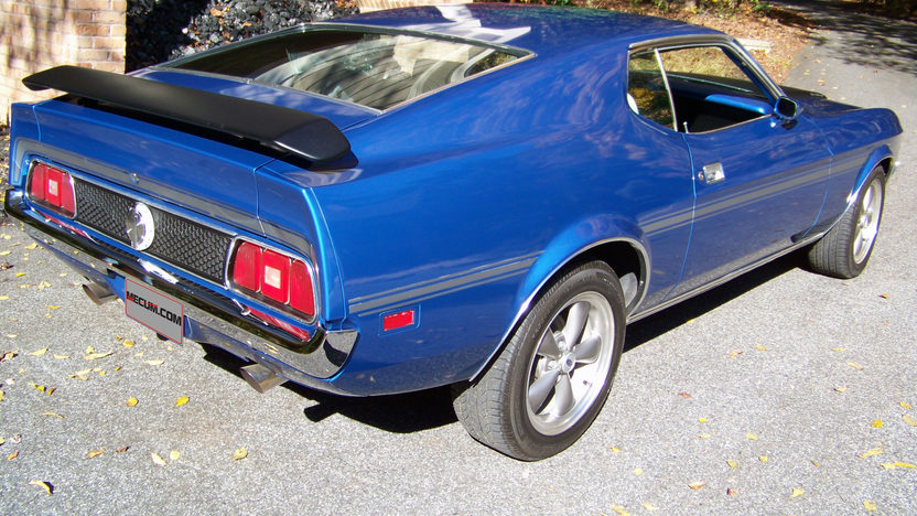 1971 Ford Mustang 351 CI, 4-Speed presented as lot T286 at Indianapolis, IN 2013 - image2