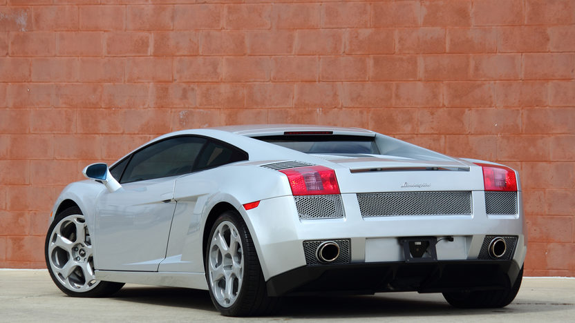 2004 Lamborghini Gallardo 5.0L V-10, 14,140 Miles presented as lot F241 at Indianapolis, IN 2013 - image3