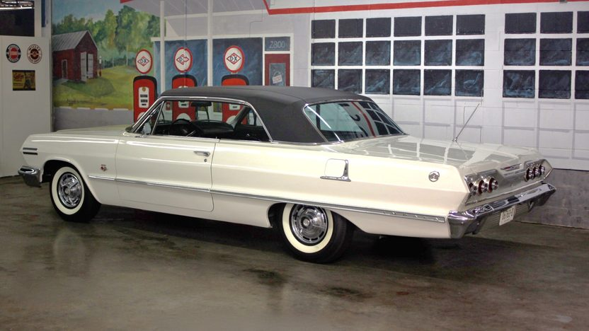 1963 Chevrolet Impala SS 409/340 HP, Automatic presented as lot W247 at Indianapolis, IN 2013 - image2