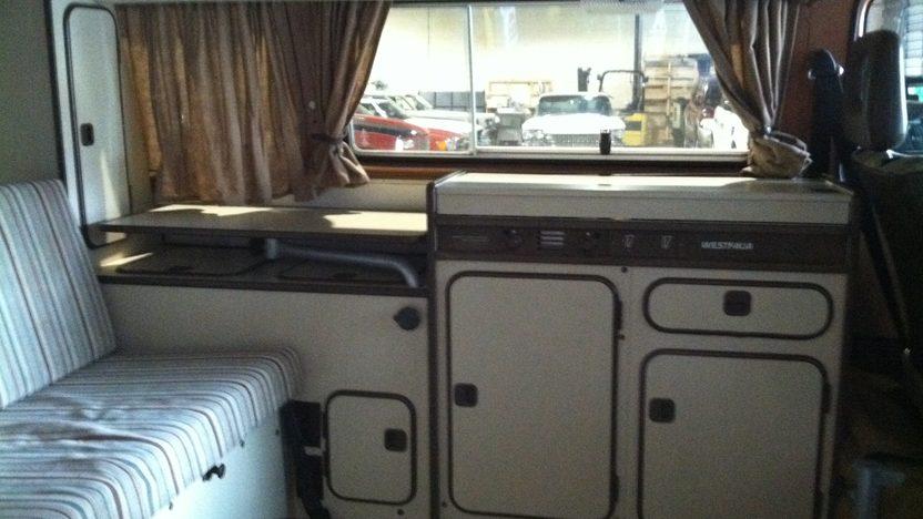 1981 Volkswagen Vanagon Camper Van presented as lot T58.1 at Indianapolis, IN 2013 - image3