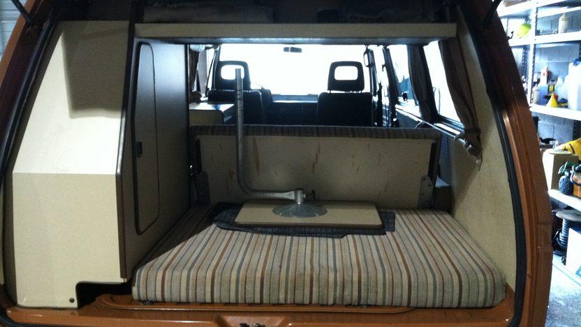 1981 Volkswagen Vanagon Camper Van presented as lot T58.1 at Indianapolis, IN 2013 - image4