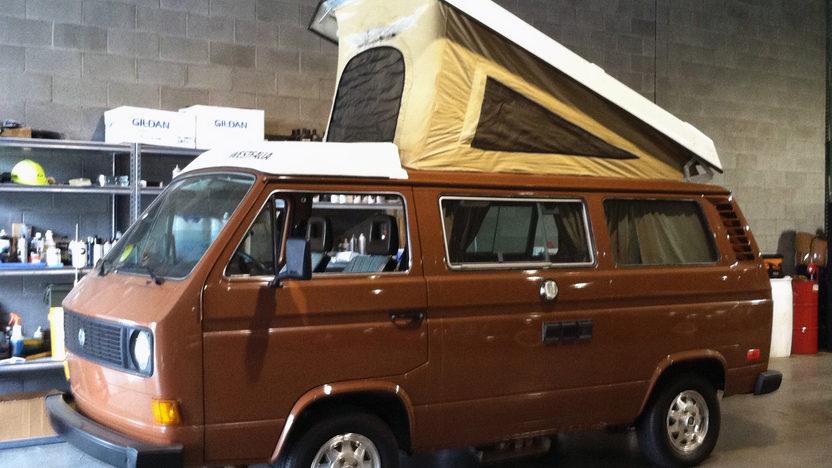 1981 Volkswagen Vanagon Camper Van presented as lot T58.1 at Indianapolis, IN 2013 - image5