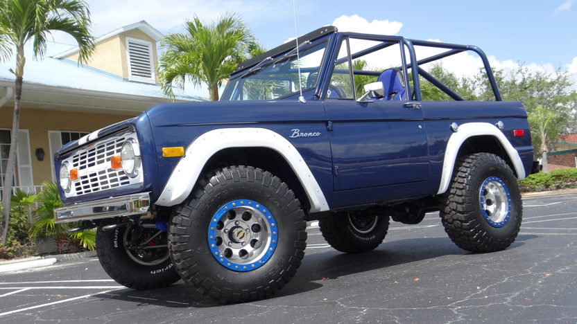 1973 Ford Bronco 302/325 HP, Automatic presented as lot F55.1 at Indianapolis, IN 2013 - image10