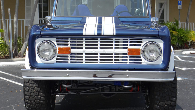 1973 Ford Bronco 302/325 HP, Automatic presented as lot F55.1 at Indianapolis, IN 2013 - image8
