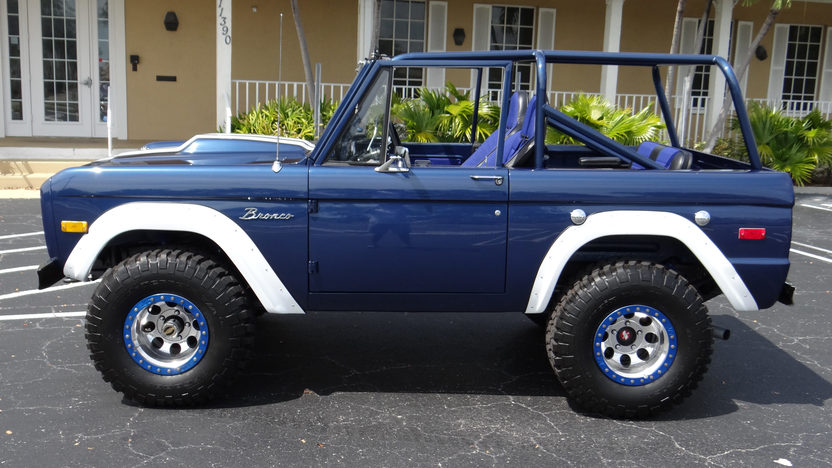 1973 Ford Bronco 302/325 HP, Automatic presented as lot F55.1 at Indianapolis, IN 2013 - image9