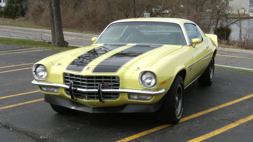 1973 Chevrolet Camaro Z28 350 CI, Automatic presented as lot T307 at Indianapolis, IN 2013 - image4