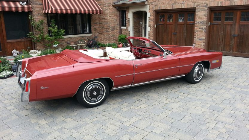 1976 Cadillac Eldorado Convertible 500 CI, Fuel Injection presented as lot F280.1 at Indianapolis, IN 2013 - image2