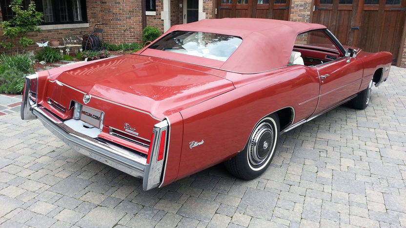 1976 Cadillac Eldorado Convertible 500 CI, Fuel Injection presented as lot F280.1 at Indianapolis, IN 2013 - image3