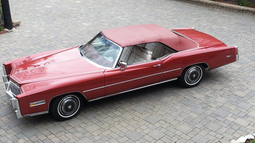 1976 Cadillac Eldorado Convertible 500 CI, Fuel Injection presented as lot F280.1 at Indianapolis, IN 2013 - image8
