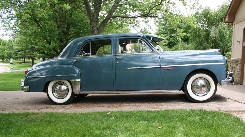 1949 Dodge Coronet 230/103 HP, 3-Speed presented as lot G54 at Indianapolis, IN 2014 - image2