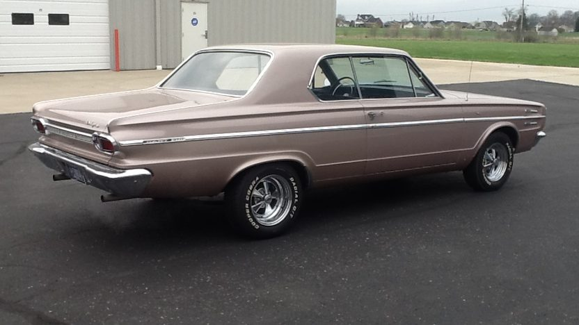 1966 Dodge Dart 273/180 HP, Automatic presented as lot W23 at Indianapolis, IN 2014 - image2