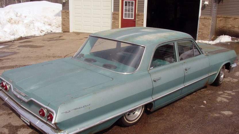 1963 Chevrolet Bel Air 396 CI, Automatic presented as lot W43 at Indianapolis, IN 2014 - image2