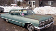 1963 Chevrolet Bel Air 396 CI, Automatic presented as lot W43 at Indianapolis, IN 2014 - thumbail image6