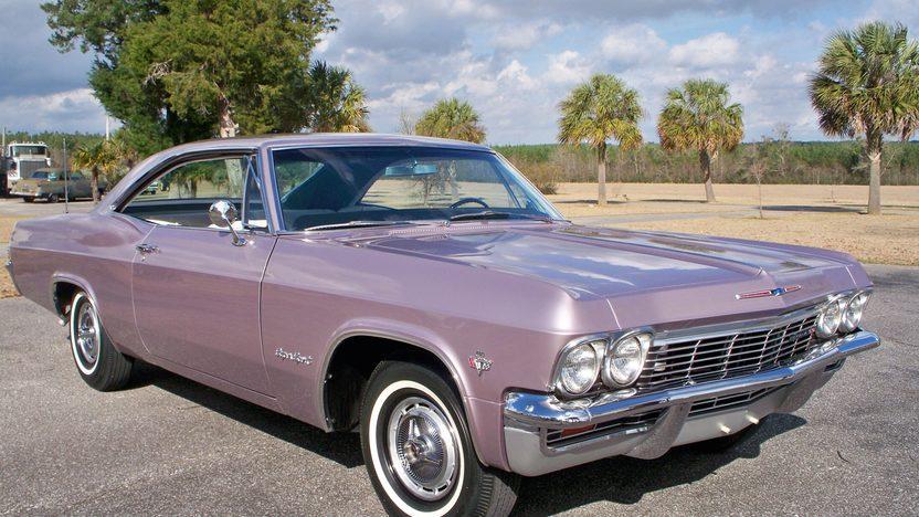 1965 Chevrolet Impala Ss Mecum Indianapolis 2014 F295