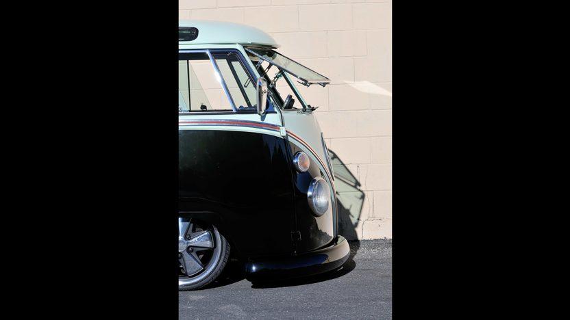 1967 Volkswagen Custom 21 Window Bus Resto Mod Mecum
