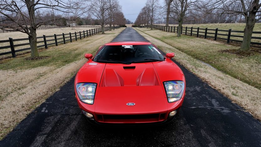 2005 Ford GT One Owner with 376 Miles presented as lot F244 at Indianapolis, IN 2014 - image12