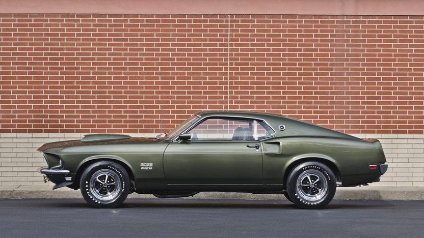 1969 Ford Mustang Boss 429 Fastback Original 429/375 HP and 4-Speed presented as lot F248 at Indianapolis, IN 2014 - image3