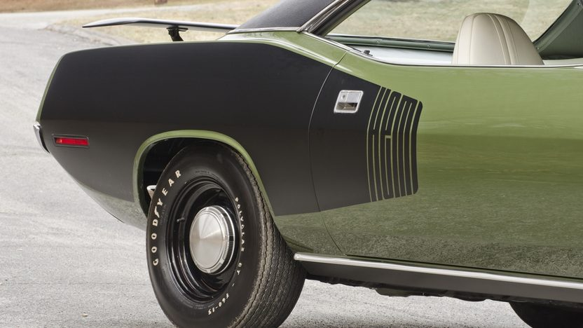 1971 Plymouth Hemi Cuda 426 CI, 4-Speed presented as lot S185 at Indianapolis, IN 2014 - image10