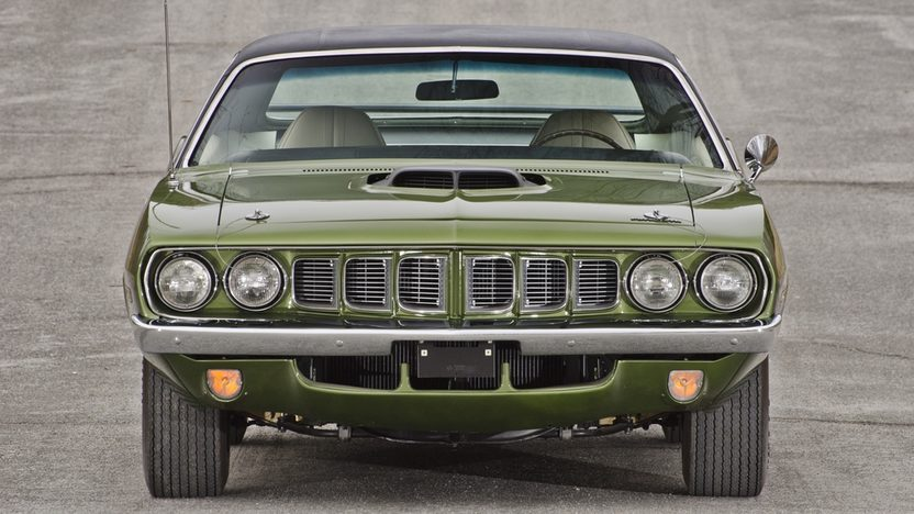 1971 Plymouth Hemi Cuda 426 CI, 4-Speed presented as lot S185 at Indianapolis, IN 2014 - image12