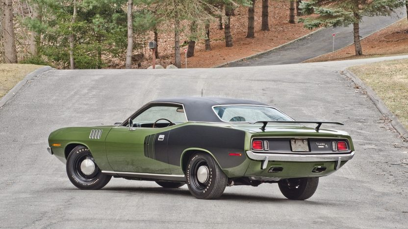 1971 Plymouth Hemi Cuda 426 CI, 4-Speed presented as lot S185 at Indianapolis, IN 2014 - image2