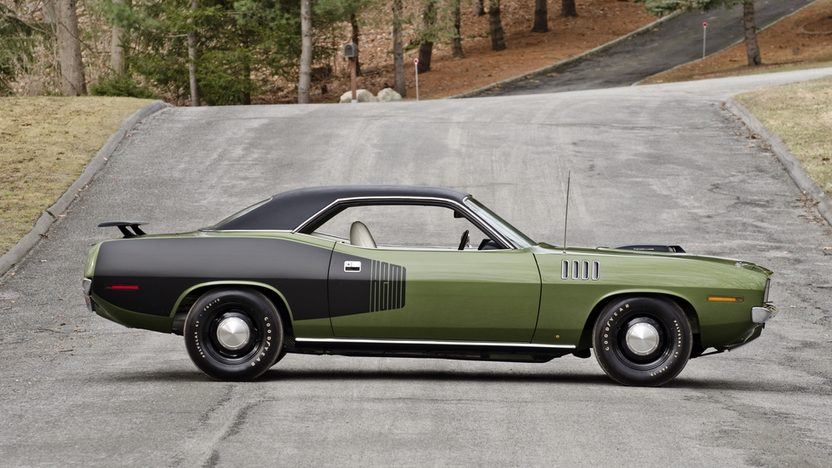 1971 Plymouth Hemi Cuda 426 CI, 4-Speed presented as lot S185 at Indianapolis, IN 2014 - image3