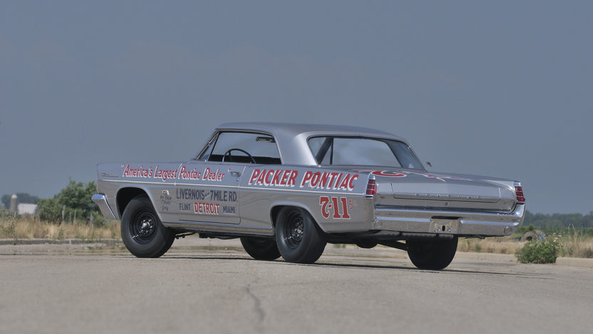 1963 Pontiac Catalina Swiss Cheese The Most Famous of Only 14 Cars Ever Built presented as lot S158 at Indianapolis, IN 2014 - image2