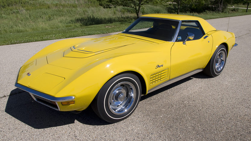 1972 Chevrolet Corvette LT1 Convertible Bloomington Gold Benchmark presented as lot S143 at Indianapolis, IN 2014 - image6