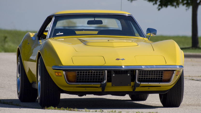 1972 Chevrolet Corvette LT1 Convertible Bloomington Gold Benchmark presented as lot S143 at Indianapolis, IN 2014 - image7