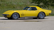 1972 Chevrolet Corvette LT1 Convertible Bloomington Gold Benchmark presented as lot S143 at Indianapolis, IN 2014 - thumbail image2