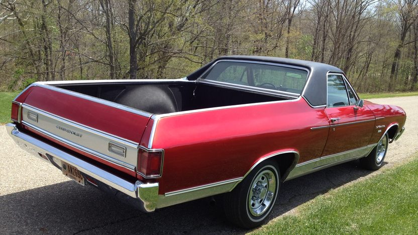 1972 Chevrolet El Camino One Family Owned Since New presented as lot G176 at Indianapolis, IN 2014 - image2