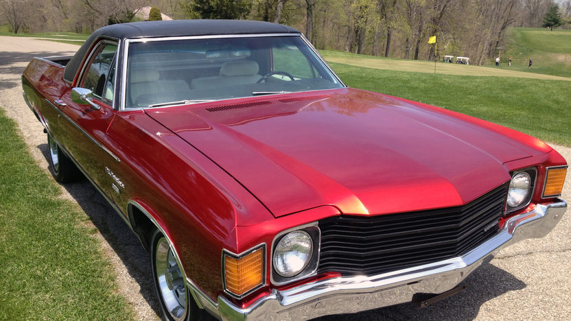 1972 Chevrolet El Camino One Family Owned Since New presented as lot G176 at Indianapolis, IN 2014 - image7