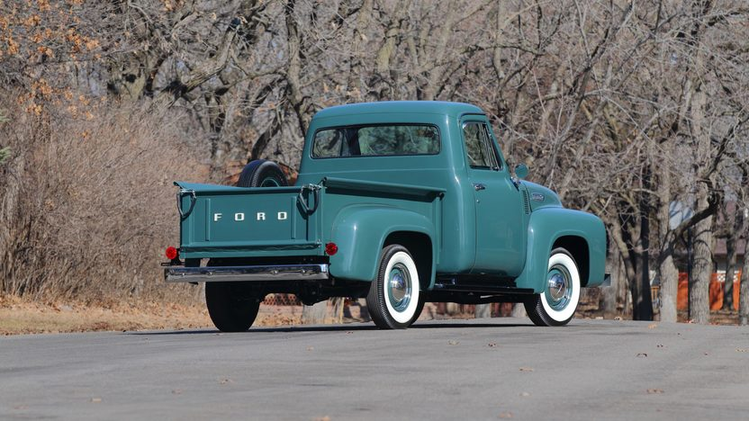 1953 ford f100 pickup 239 ci 3 speed mecum auctions for Garage ford metz borny