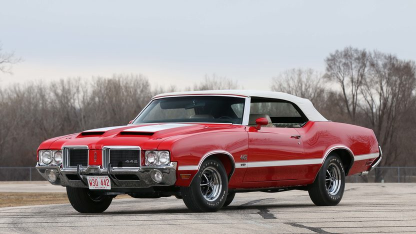 1971 Oldsmobile 442 W 30 Convertible 1 Of 10 Produced With