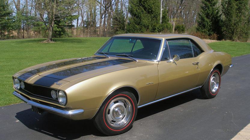 1967 Chevrolet Camaro Z28 Mecum Indianapolis 2016 F55 1