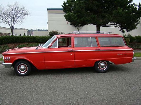 1961 Mercury Comet Wagon presented as lot F153 at Seattle, WA 2014 - image2