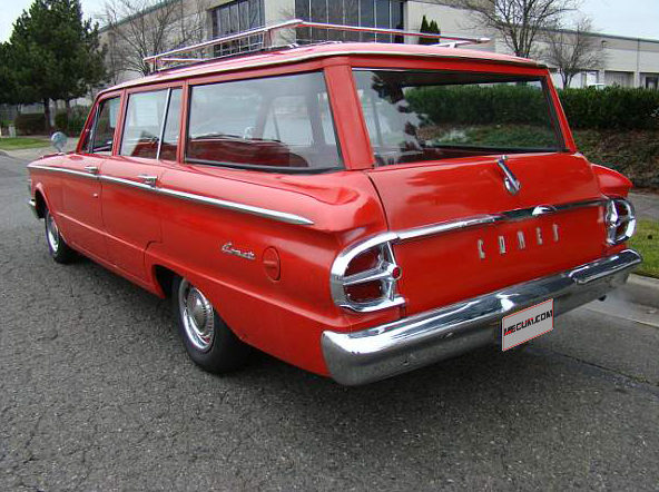 1961 Mercury Comet Wagon presented as lot F153 at Seattle, WA 2014 - image3