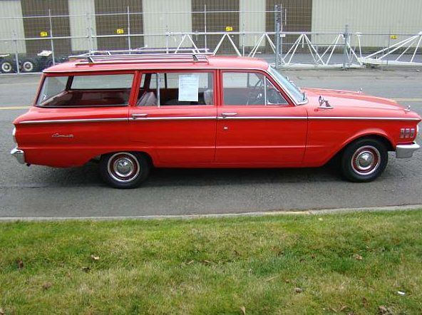 1961 Mercury Comet Wagon presented as lot F153 at Seattle, WA 2014 - image7