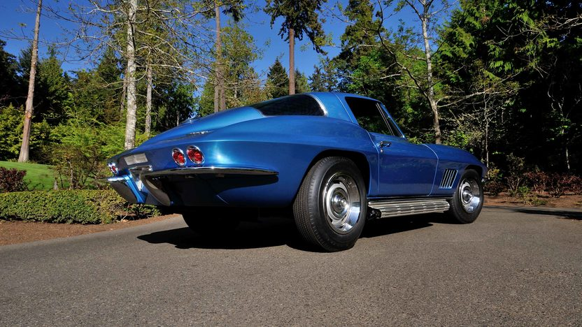 1967 Chevrolet Corvette L88 Coupe Factory Side Exhaust, Tank Sticker presented as lot S113 at Seattle, WA 2014 - image11
