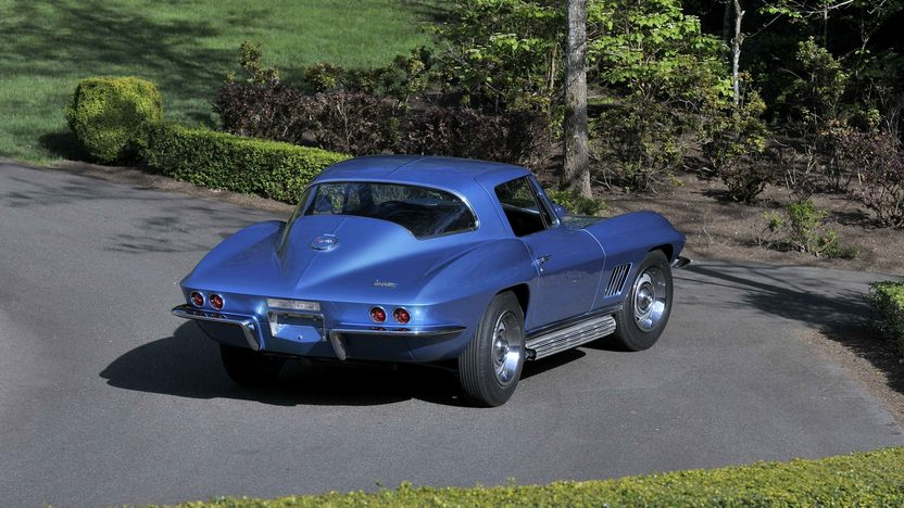 1967 Chevrolet Corvette L88 Coupe Factory Side Exhaust, Tank Sticker presented as lot S113 at Seattle, WA 2014 - image3