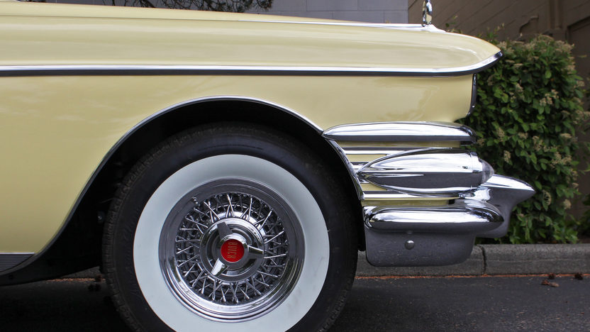 1958 Buick Limited Convertible 364 CI, Automatic presented as lot S163 at Seattle, WA 2014 - image9