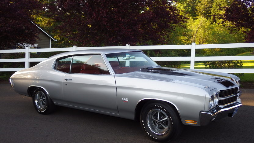1970 Chevrolet Chevelle LS6 Hardtop Silver/Red, 3 Build Sheets presented as lot S106.1 at Seattle, WA 2014 - image9
