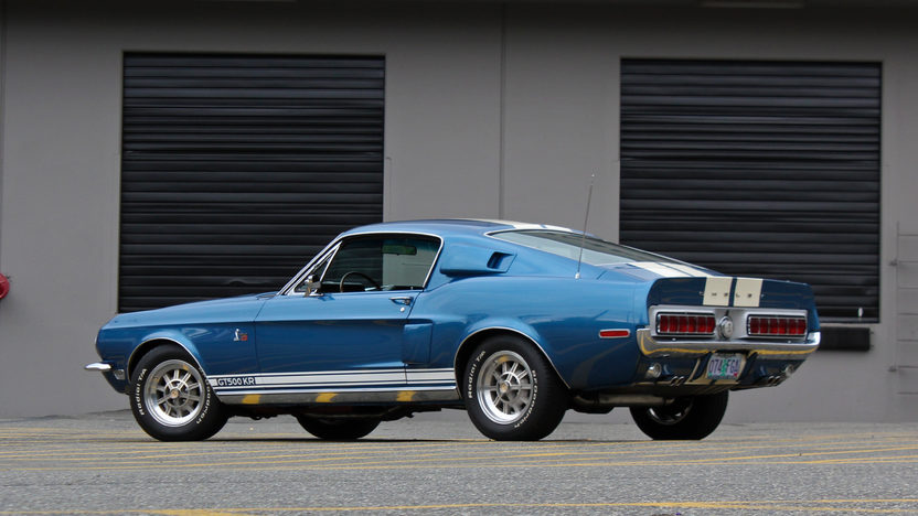 1968 Shelby GT500KR Fastback 428 CI, 4-Speed presented as lot S125 at Seattle, WA 2014 - image3