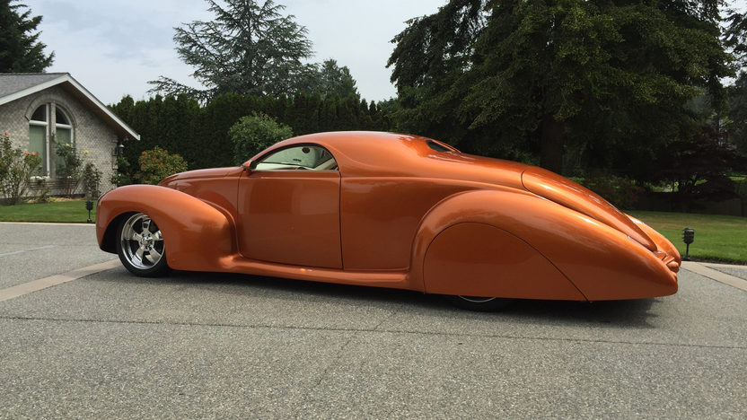 1939 lincoln zephyr street rod 5 3l automatic mecum for 1939 lincoln zephyr 3 window coupe